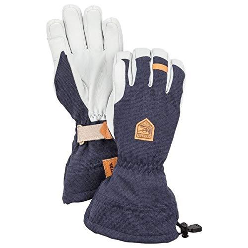Hestra Gloves 30670 Army Leather Patrol Gauntlet, Navy - 8