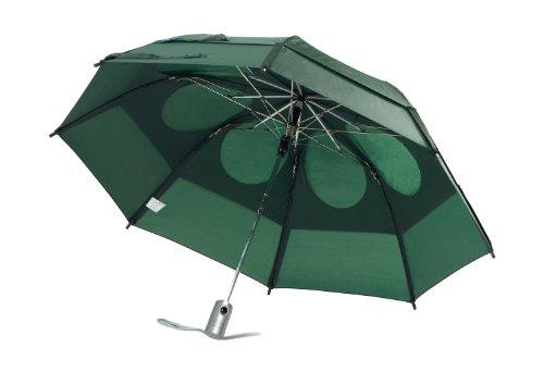 GustBuster Metro Automatic Folding Umbrella Windproof, Compact & Portable 43-Inch with (Hunter) (Designer Umbrella Sale)