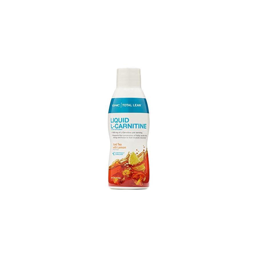 GNC Total Lean Liquid L Carnitine Iced Tea with Lemon