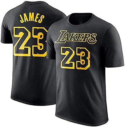 Gflyme Lakers Kobe 1996-2016 Retirada Camiseta Conmemorativa Kobe Algodón 8-24 Apariencia de Baloncesto Vestido de Manga Corta Basketball Vest (Color : Black 24, Size : XS): Amazon.es: Hogar