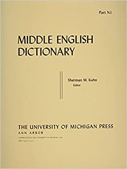 Middle English Dictionary Pt.N1