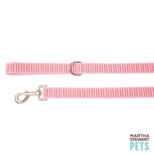 Allie Dot Dog Leash, Pink, 4 ft ()
