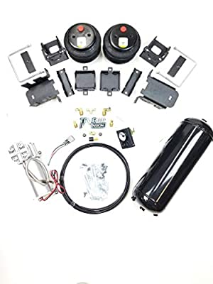 TS - Fits Ford F350 2WD Pickup Truck Towing Assist Air Ride Suspension Kit Complete With Air Management Control
