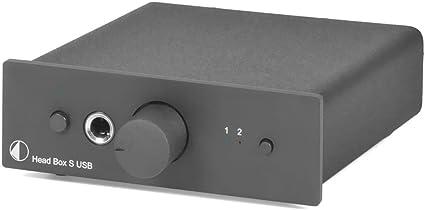 Pro Ject Head Box S Usb Kopfhörerverstärker Schwarz Audio Hifi