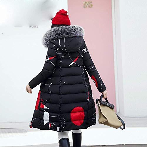 Targogo Frauen Winterjacke Best Damen Lang Daunenmantel OkPXiuZ