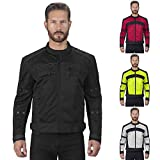 Motorcycle Jackets for Men Viking Cycle Ironside Men's Mesh Motorcycle Jacket (Large)