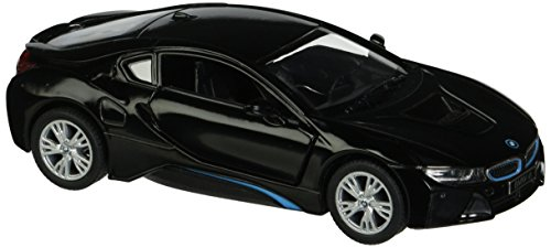 Kinsmart BMW i8 1:36 Scale Super Car, Black (Bmw Model Car compare prices)