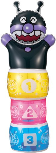 Anpanman tin Oh Toshi (small) Baikinman (japan import)