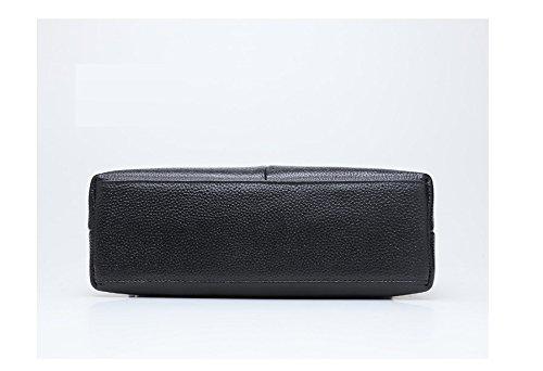 GWQGZ Umhängetasche Der Neuen Art Und Weisedamen Einzelne Einfache Einfache Einfache Temperamenthandtasche Schwarz B07F31VNRP Schultertaschen Neues Design ffb46b