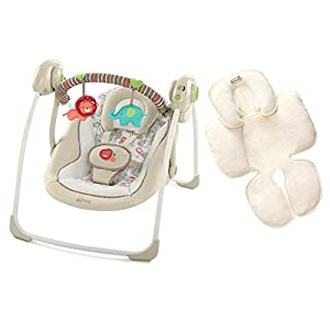 Comfort & Harmony Portable Swing with Head & Body Support