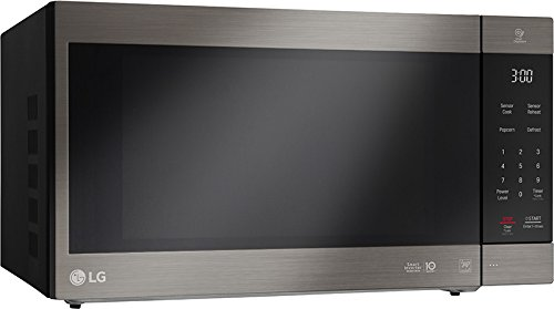 LG LMC2075ABD Neochef Countertop Microwave with Smart Inverter, Black/Stainless Steel by LG