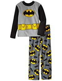Batman Big Boys' 2 Piece Fleece Pajama Set