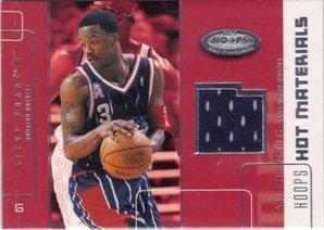 Steve Francis Jersey - 2002-03 Hoops Hot Prospects Hot Materials #2 Steve Francis Jersey