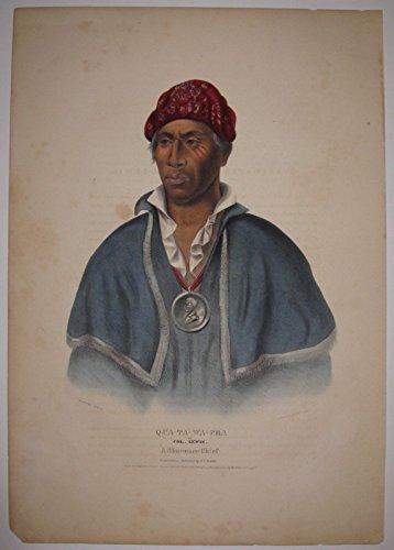Qua-Ta-Wa-Pea or Col. Lewis: A Shawanee Chief
