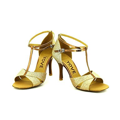 Geheimnisvolle Direct Damen @ Damen Direct Beruf Dance Schuhe goldfarben 867a5d