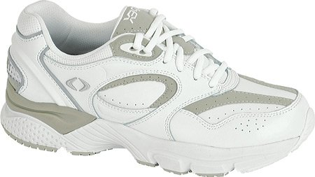 Apex Men's Lace WL X Last Walking Shoe - White 10.5 3E US