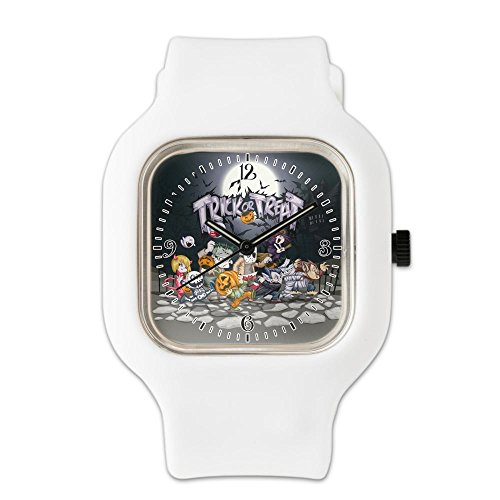 White Fashion Sport Watch Halloween Trick or Treat Costumes