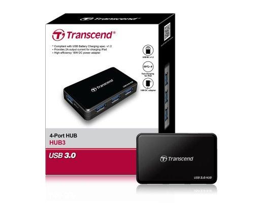 Transcend Information SuperSpeed USB 3.0 Hub (TS-HUB3K) by Transcend (Image #6)