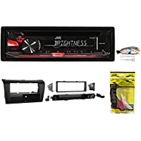 JVC CD Player Receiver Stereo w/ MP3/WMA/Aux For 2004-2009 MAZDA 3