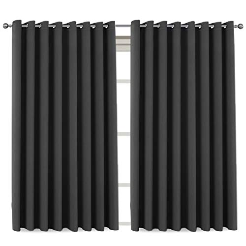 extra wide grommet curtains - 3
