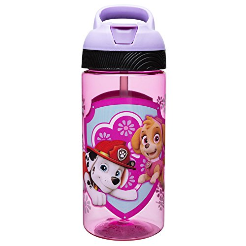 Zak Designs Paw Patrol 19 oz. Plastic Water Bottle, Paw Patr
