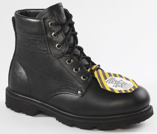 65s01 - Neshorn Stål Tå Sikkerhetsarbeid Boot - Svart
