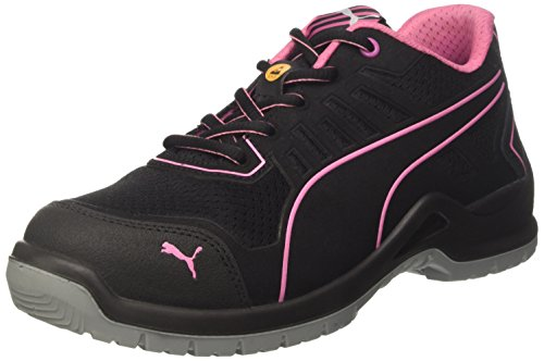 Puma Safety Womens/Ladies Lightweight Fuse TC Safety Trainers, Black, 9 AU
