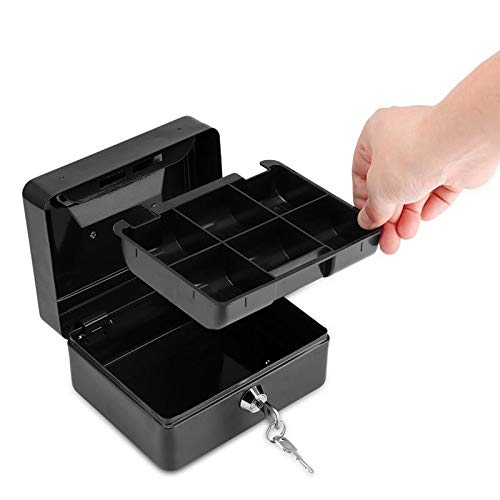 MASODHDFX Small Metal Piggy Bank Safety Deposit Box for Money Coin Cash with Secret Key Cash Drawer Home Derection Gift for Kid,C (Airtel Money Transfer To Bank A C)