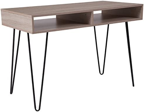 Flash Furniture Franklin Oak Wood Grain Finish Computer Table