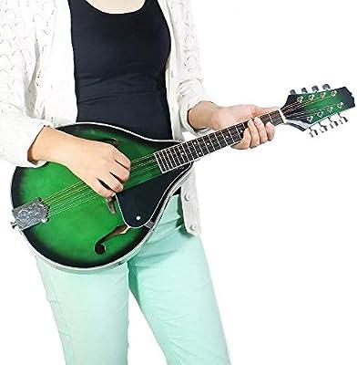 Zhongsufei-Tu Guitarra eléctrica Guitarra clásica de la mandolina ...