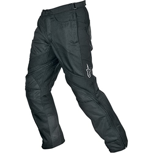 Alpinestars Air-Flo Men's Textile Street Motorcycle Pants - Black / (Air Flo Pants)