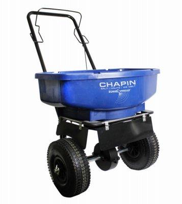 CHAPIN R E 81008A 80LB Residential Salt Spreader, 80 lb Professional Spreader