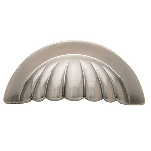 Baldwin 4464.150.BIN Melon Cup Cabinet Pull, Satin Nickel