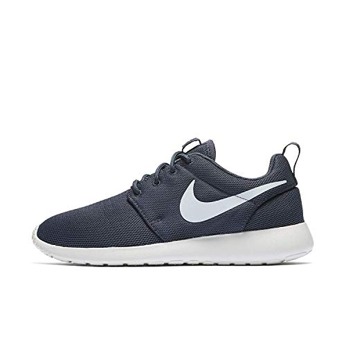 NIKE WMNS Roshe One 844994 404 Thunder Blue (9) (Canvas Nike Womens Shoes)