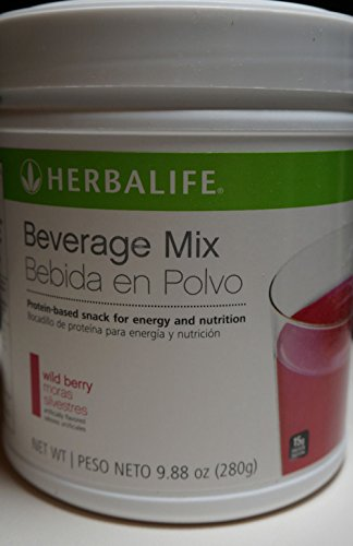 Herbalife Beverage Mix Canister Wild Berry 280g Protein Based Snack for Energy and Nutrition Healthy Snack Weight Management Boost Energy Good for Athletic Activities (Wild Berry Beverage Mix compare prices)