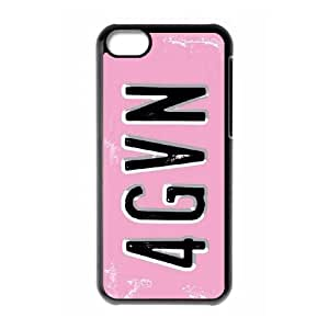 iPhone 5c Cell Phone Case Black Peter Horjus Forgiven License SUX_975205
