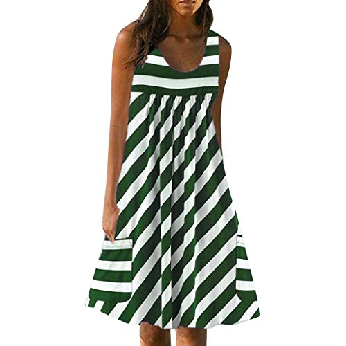 Women's Ruffle Oversize Casual Midi Dresses with Pockets