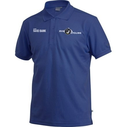 Craft Men's Team Saxo Bank Pique Sport Polo - 2009 - L (Bank Saxo Team)