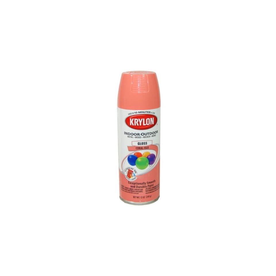 Krylon Coral Isle Spray Paint 5 Ball Decorator Aerosol Paint