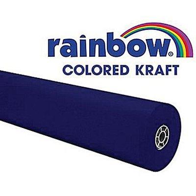 rainbow-kraft-1369528-duo-finish-kraft-paper-roll-48-x-200-size-royal-blue