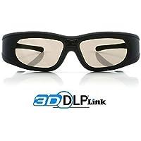 """Lunettes 3D DLP-Link """"Wave Xtra""""- 1 paire de lunettes 3D - FULL HD 1080p - Compatibles uniquement avec les vidéoprojecteurs DLP 3D"""