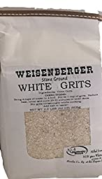 Weisenberger Mills Southern White Grits Non GMO - A Ky Proud Product 1 - 2lb Package