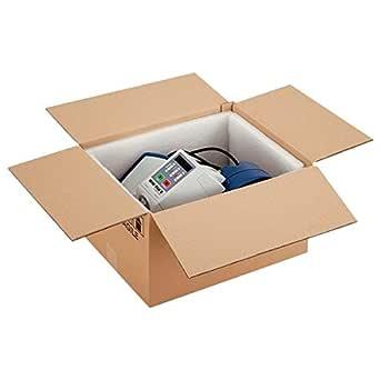 Propac z-box302510 m caja cartón dos Olas acanaladura, 30 x 25 x 10 cm, paquete de 20: Amazon.es: Industria, empresas y ciencia
