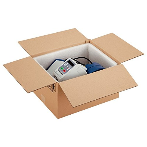 Propac z-box252015m Boîte Carton deux vagues Havane, 25x 20x 15cm, Lot de 20