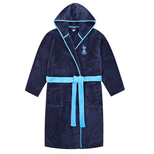 Tottenham Hotspur FC Official Gift Mens Hooded Fleece Dressing Gown Robe Medium (Shirt Tottenham Away Hotspur)