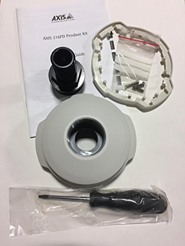 Axis Communications 5500-891 216FD Pendant Kit - Camera indoor pendant dome - white - for AXIS 216FD, 216FD-V, 216MFD, 216MFD-V, P3301, P3301-V by Axis