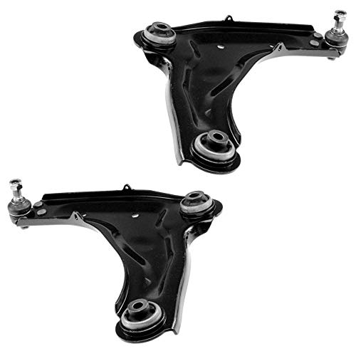 2x Suspension arm front axle left + right: