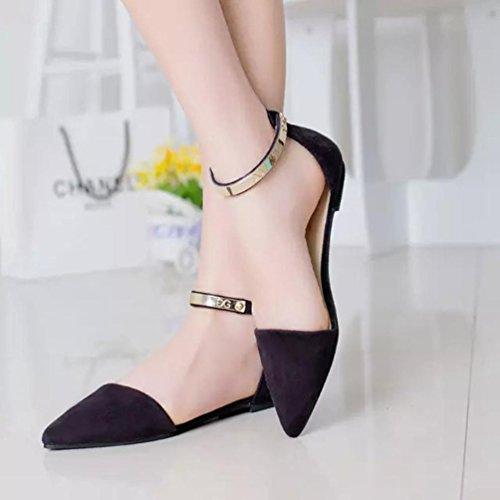 Solid Slippers Flat Black Flop Ladies Single Faux hunpta Slip Flock Women Shoes Slipper On Flip Slider pqxYTRn