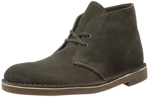 Clarks Bushacre Suede Boot - Dark Brown X 8