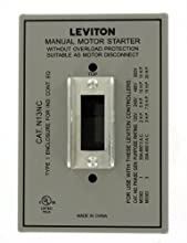 Leviton N13NC-DS Type 1 Enclosure, For Use with 30 Amp Motor Starter Switches, Steel, Gray